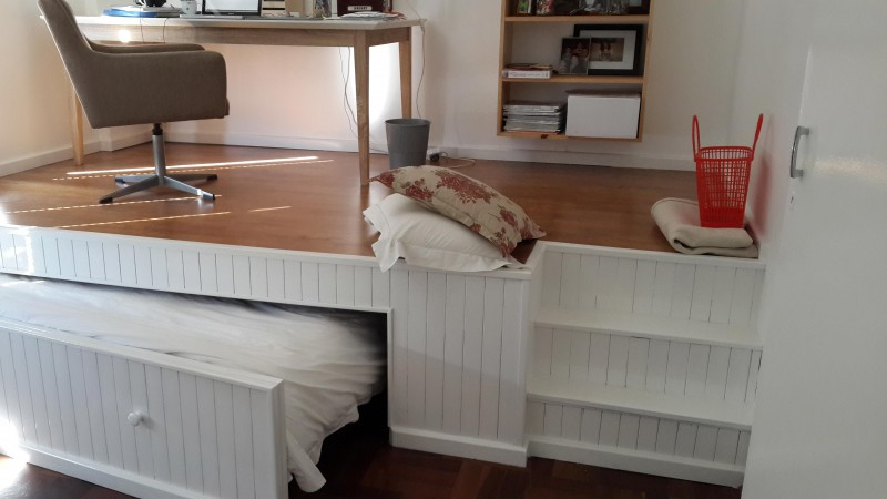 what this man does with a boring room is brilliant it really inspires you to get started. Black Bedroom Furniture Sets. Home Design Ideas