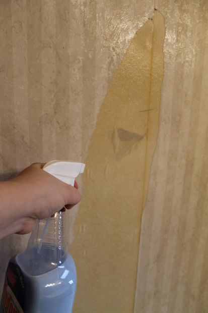 How To Use Fabric Softener Remove Old Wallpaper