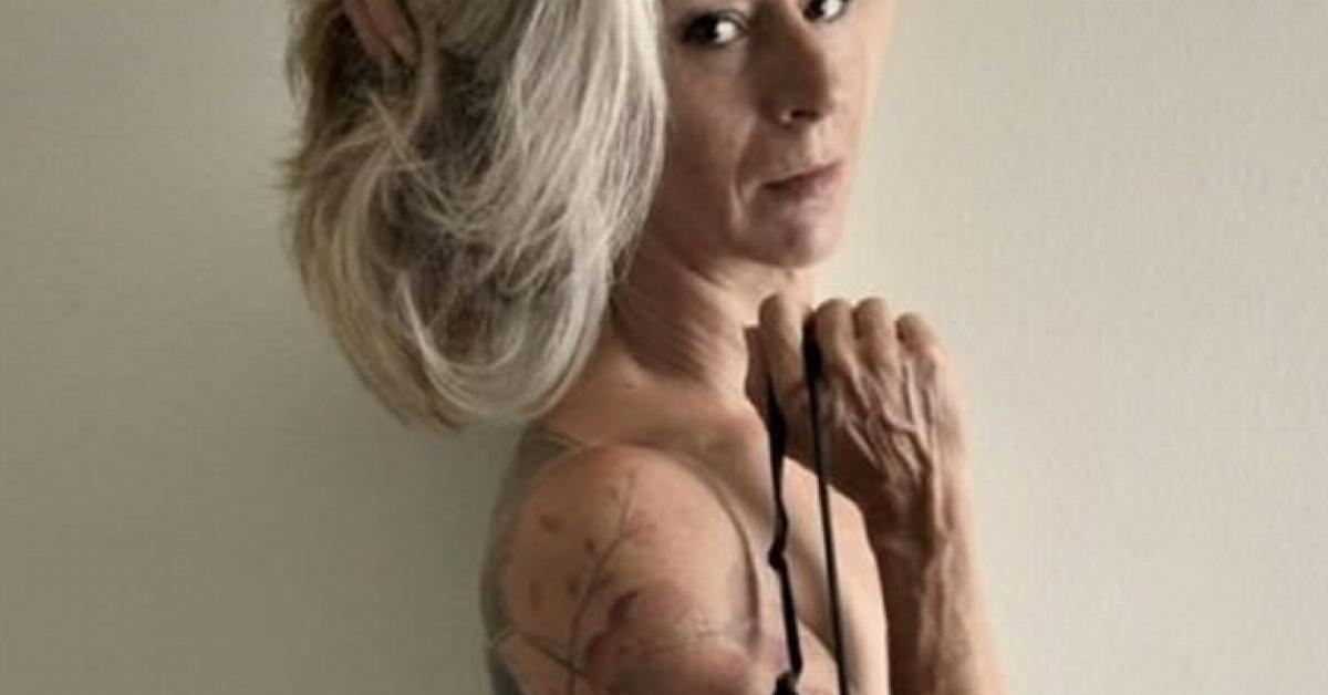 Tattooed senior citizens finally answer this question : What will it look like when I'm older?