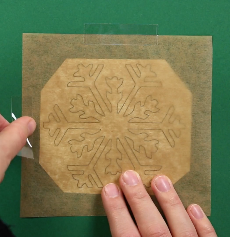 Fun Decorations For Christmasy Windows Hot Glue Snowflakes