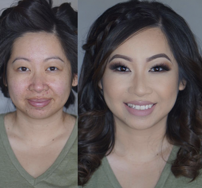 Beforeafter 16 Pictures Of Women With And Without Makeup