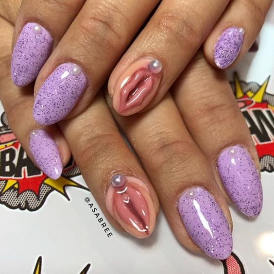 15 creative nail designs that probably won\'t inspire you