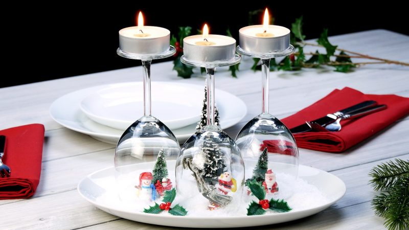 6 Great Table Decoration Ideas For Christmas