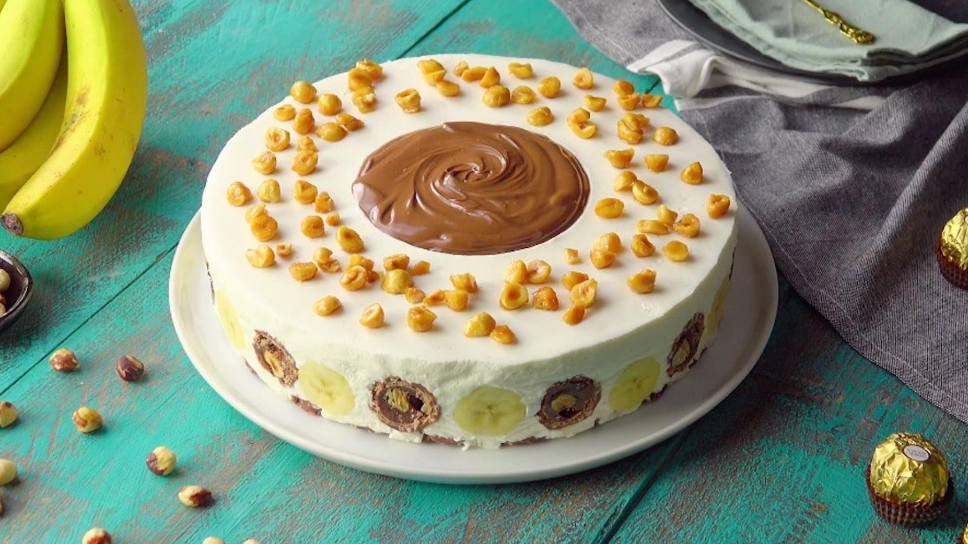 торт банановый картинка сейчас зависим