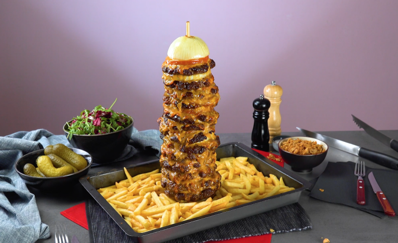 Cheeseburger Kebab