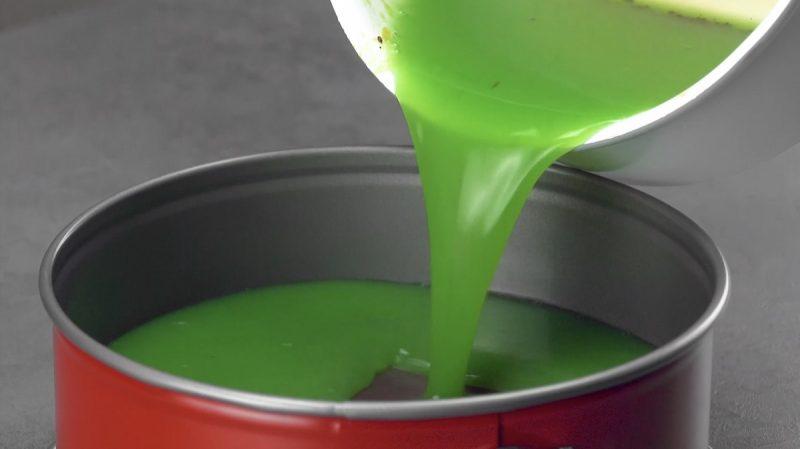 Homemade Kiwi Lime Jello