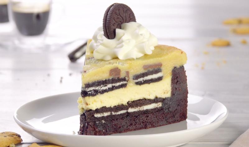 Brownie Cookie Cheesecake
