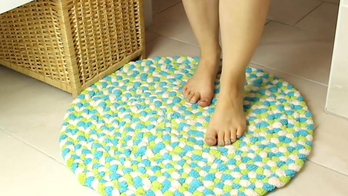 Homemade Bath Mat