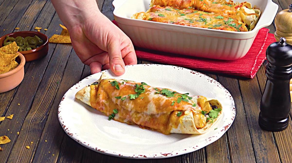Mexican Chicken Enchiladas