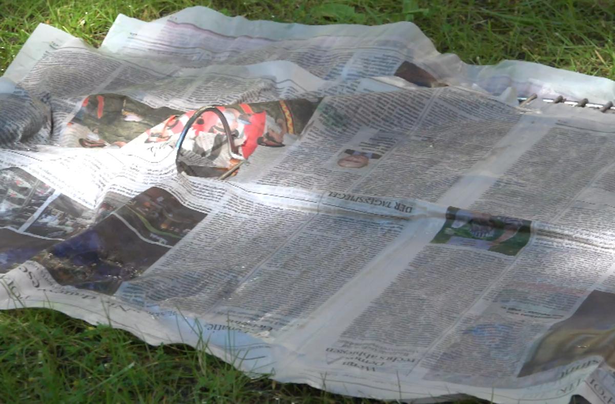 The Newspaper Trick