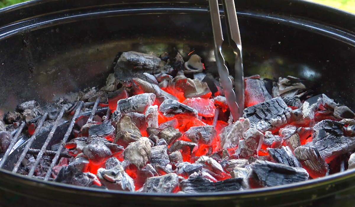 The Charcoal Trick