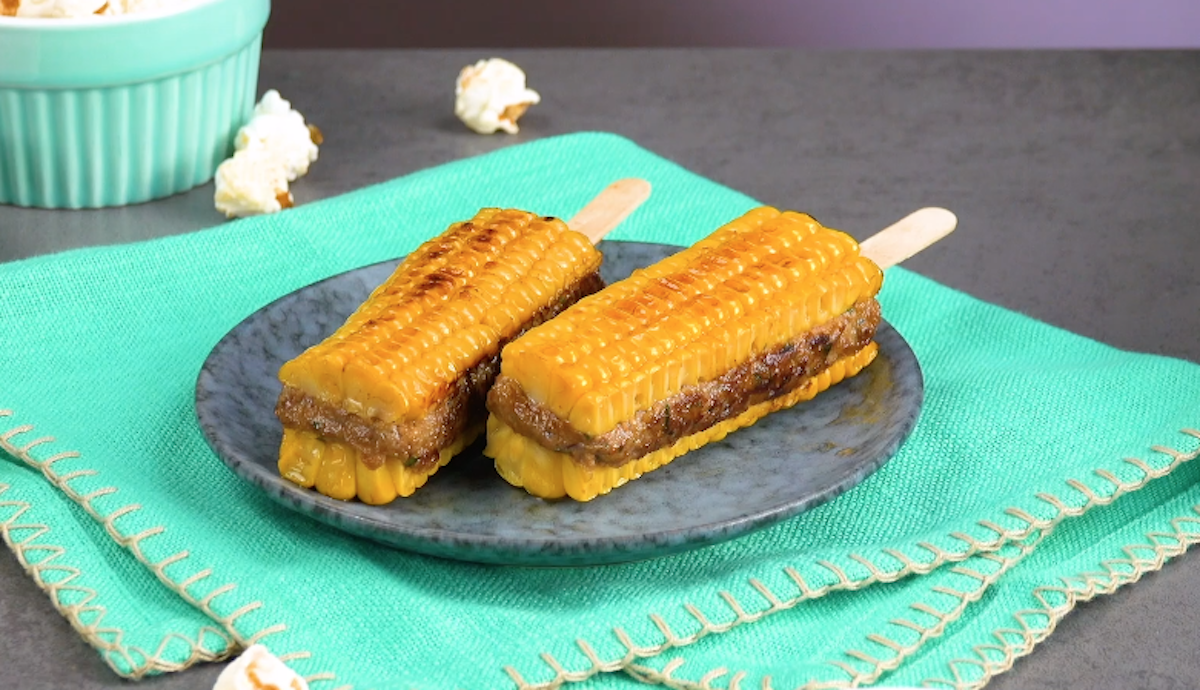 Corn On The Stick Sandwiches