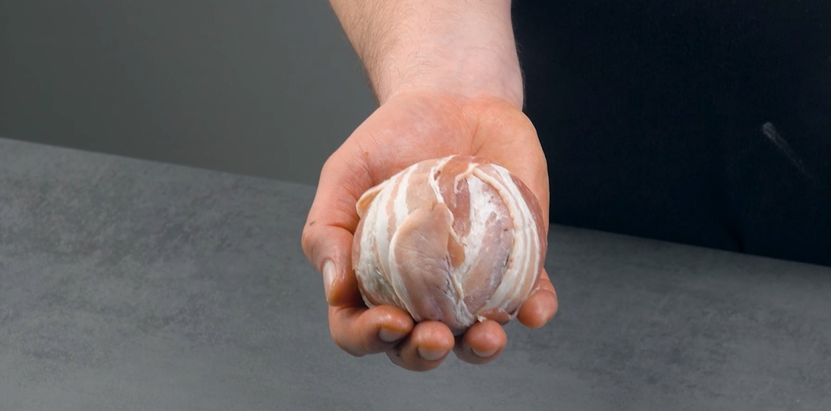 Bacon-Wrapped Onion Bombs