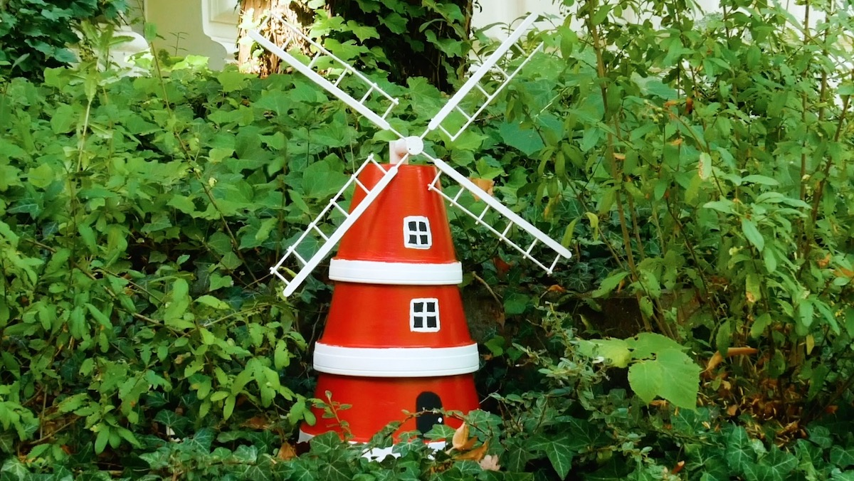 Flower Pot Windmill