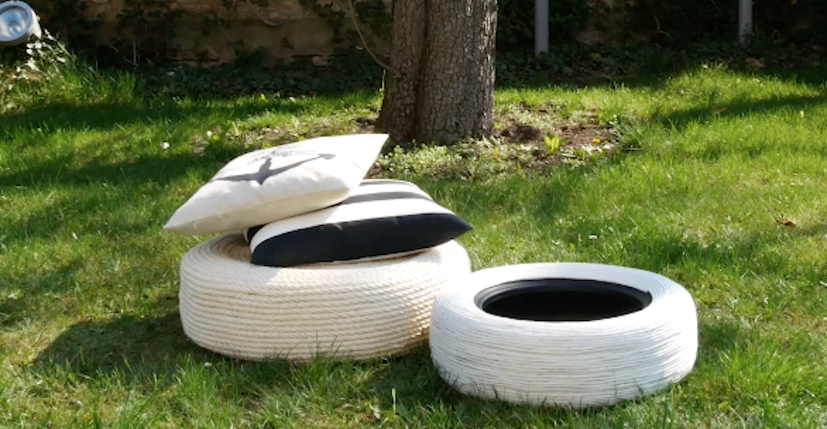 Tire Garden Furniture