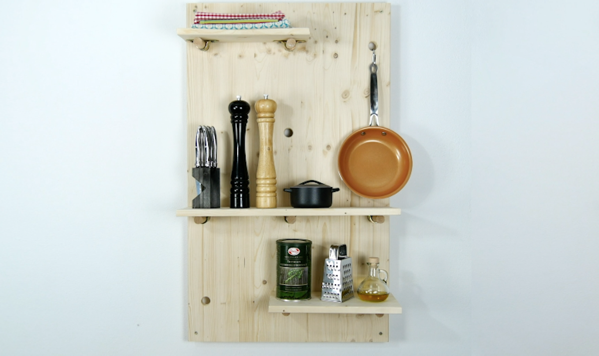 DIY Customizable Shelving Unit