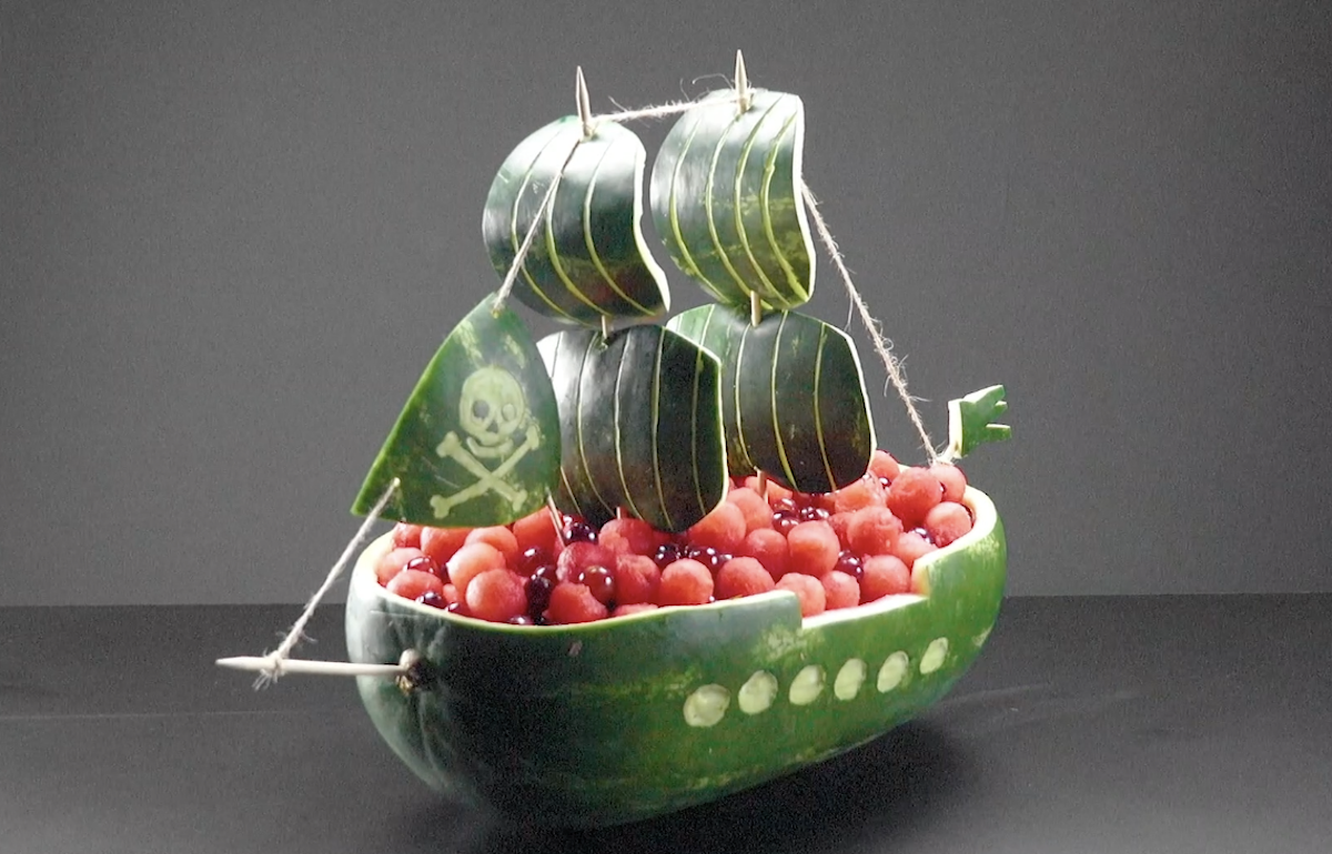 Creative Watermelon Carvings