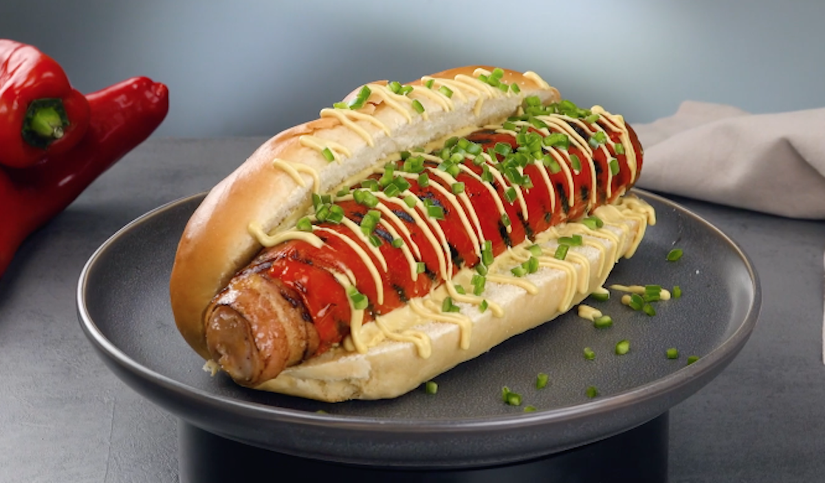 Bacon Cheese Pepper Dog