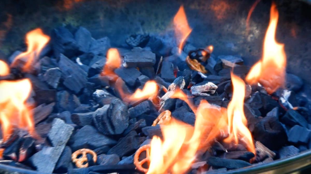 Pretzel Fire Starter