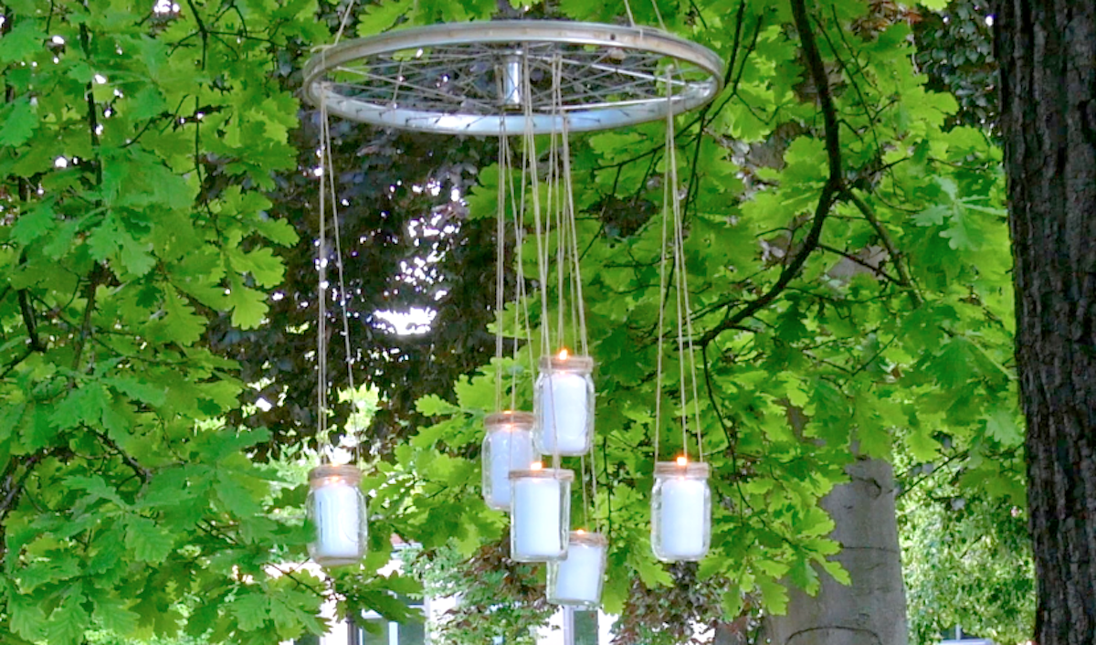 Hanging Candle Garden Decoration