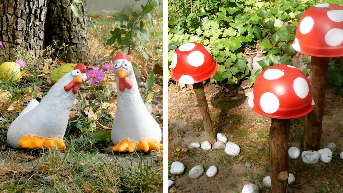 Fun & Easy Garden Decorations