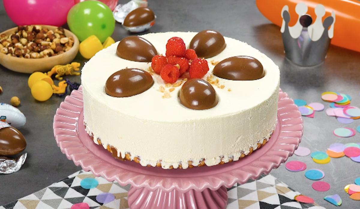 Kinder Egg Cheesecake