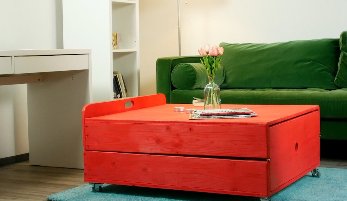 Coffee Table Bed