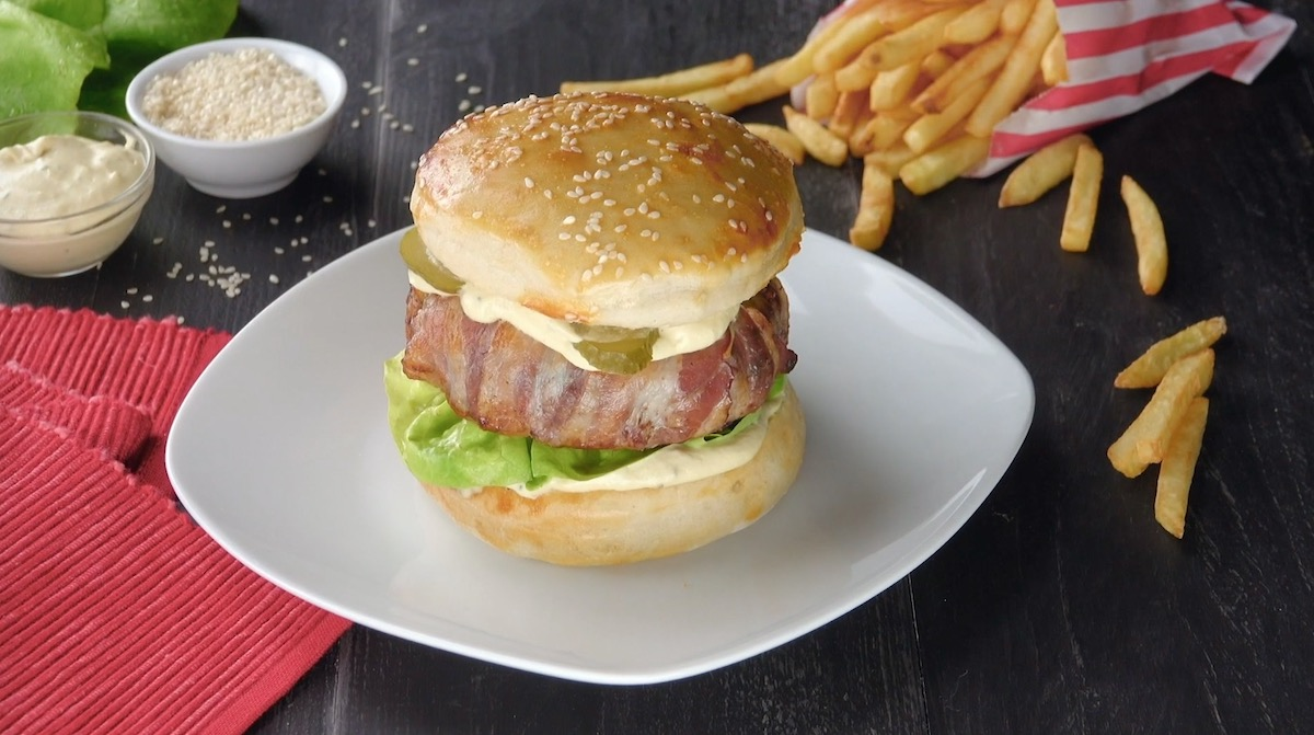 Cheese Bun Burger