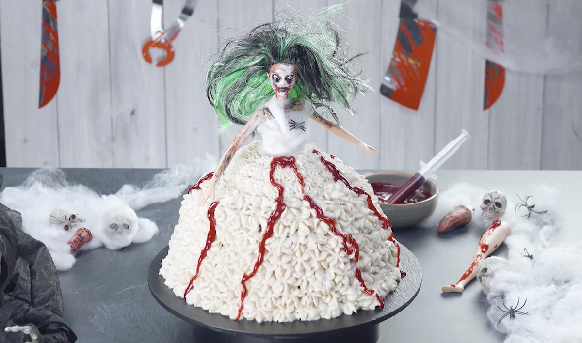 Zombie Doll Cake