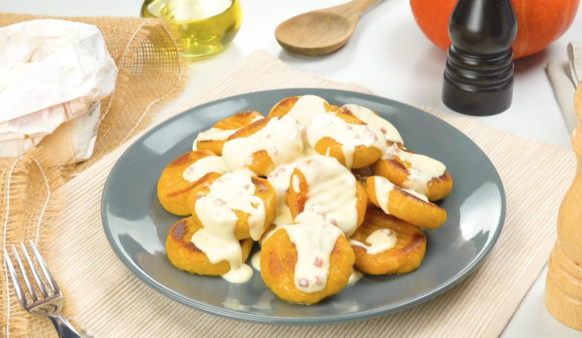 Pumpkin Potato Gnocchi