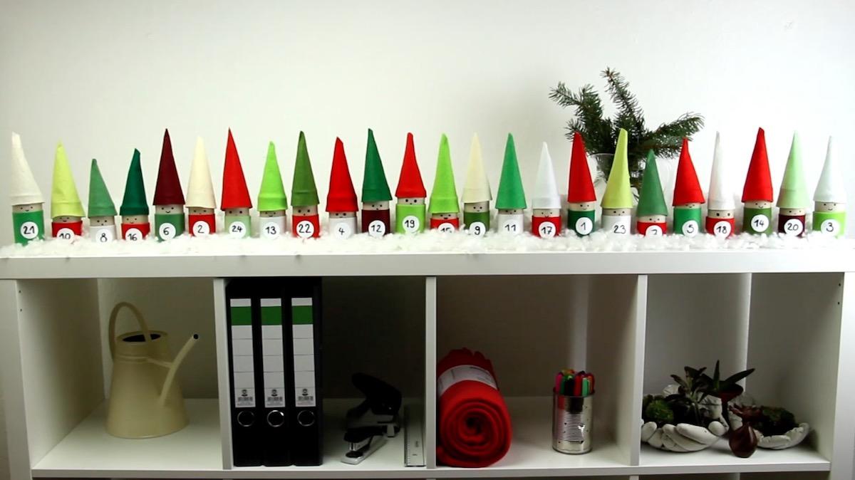 Christmas Advent Calendar Elves