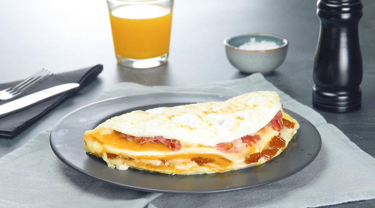 Double-Stuffed Omelet
