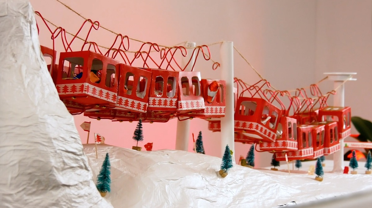 Christmas Gondola Advent Calendar