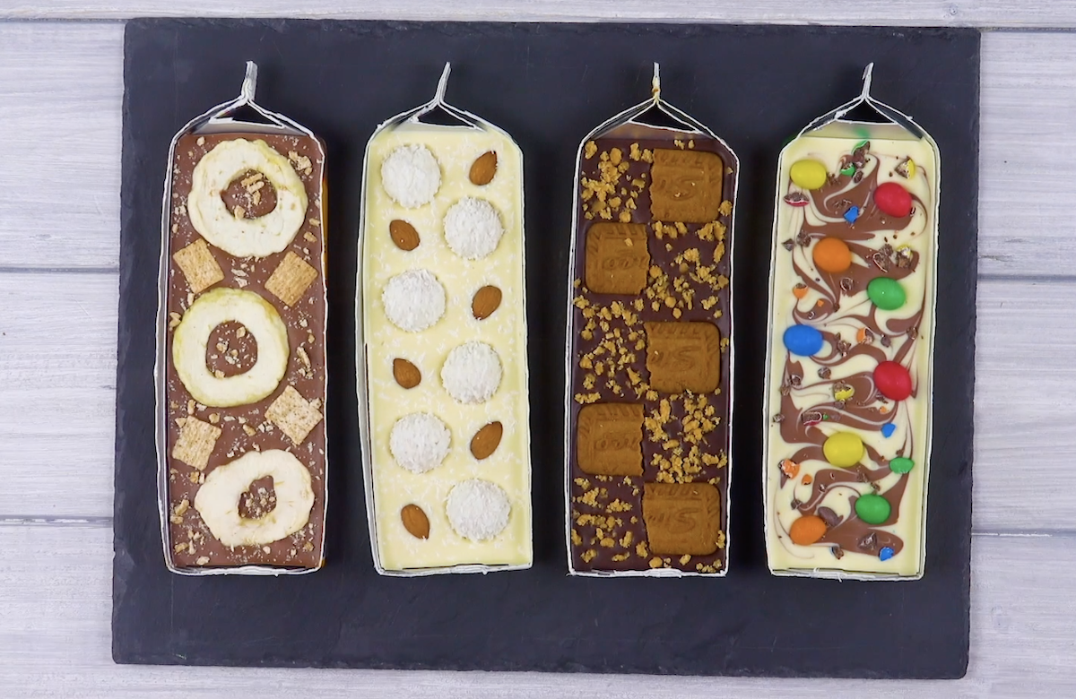 4 Homemade Candy Bars