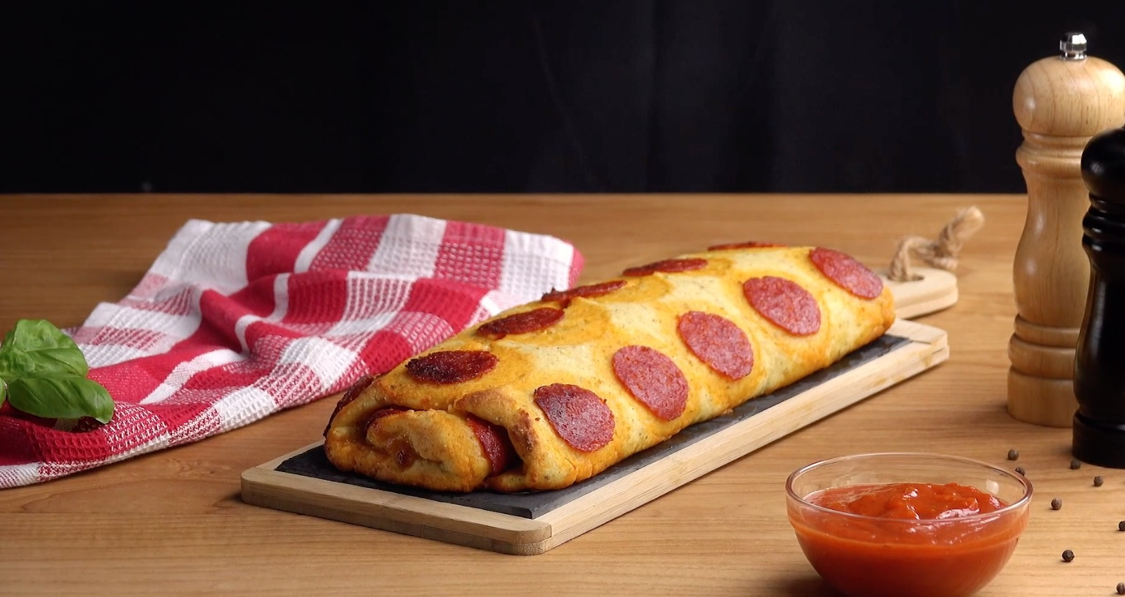 Mashed Potato Pizza Roll