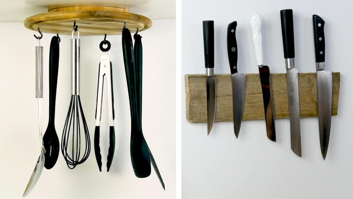 Ways To Organize Your Kitchen Utensils