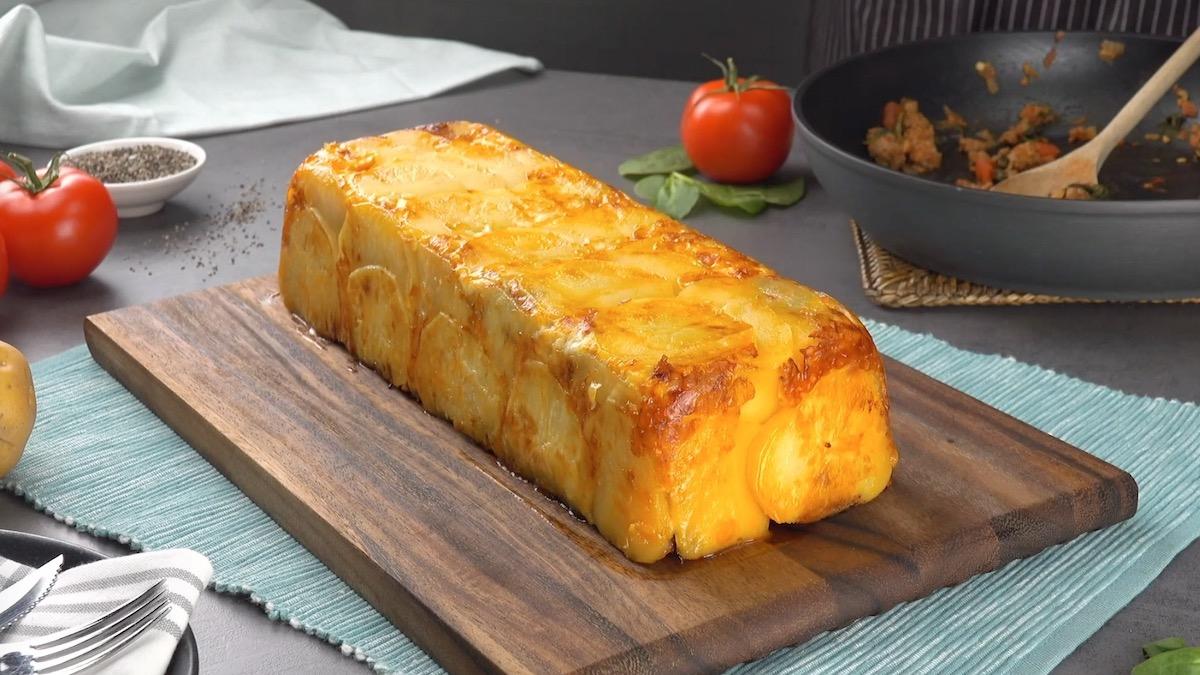 Scalloped Potato Casserole Loaf