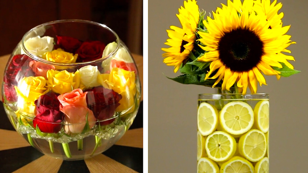 3 Beautiful Flower Arrangements