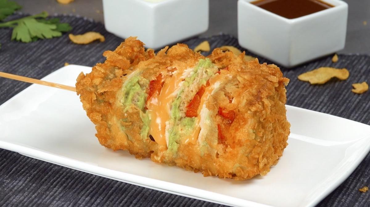 Chicken Guacamole Sandwich Kabobs
