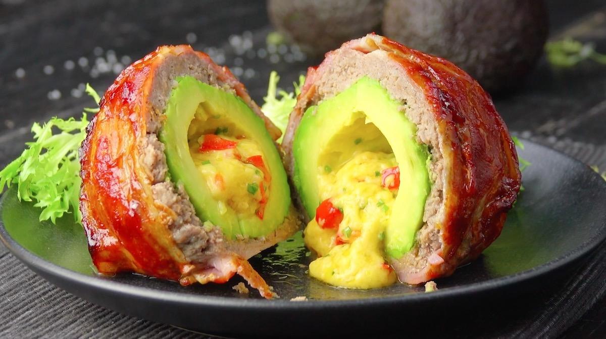 Bacon-Wrapped Avocado Bombs