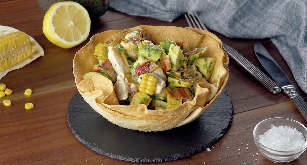 Chicken Avocado Fiesta Salad