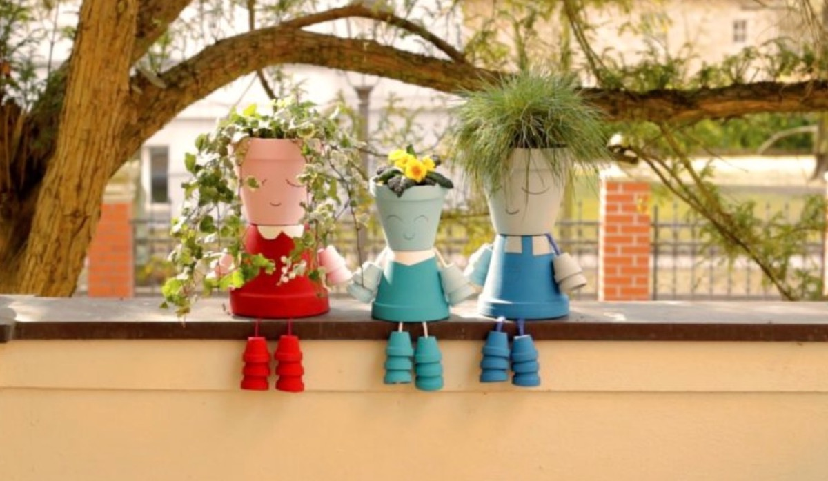 DIY Flower Pot Kids