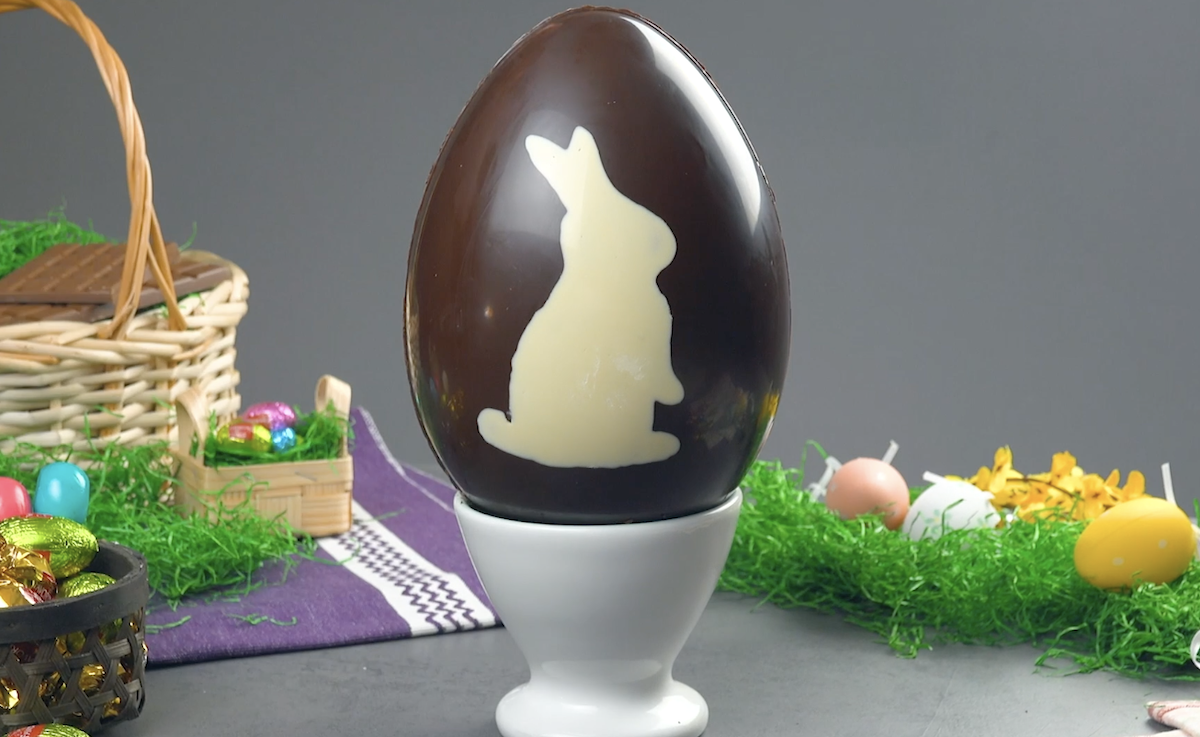 Chocolate Mango Cream Easter Egg