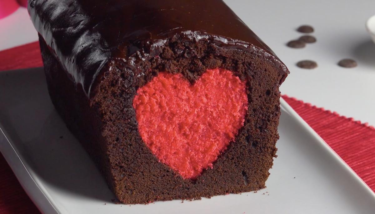 Loving Heart Cake