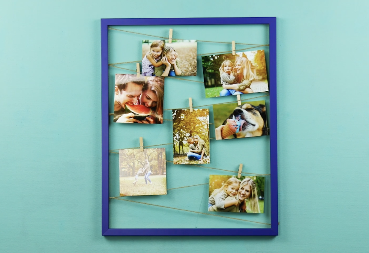2 DIY Picture Frame Gifts