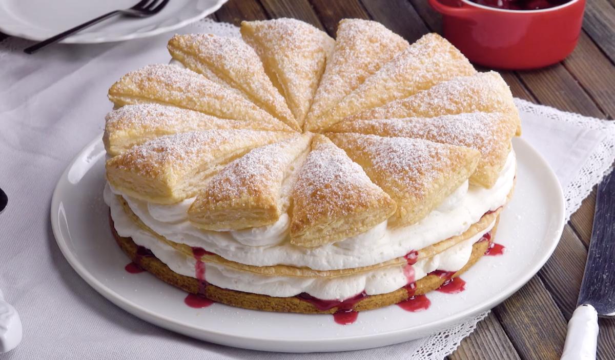 Cherry Cream Tart