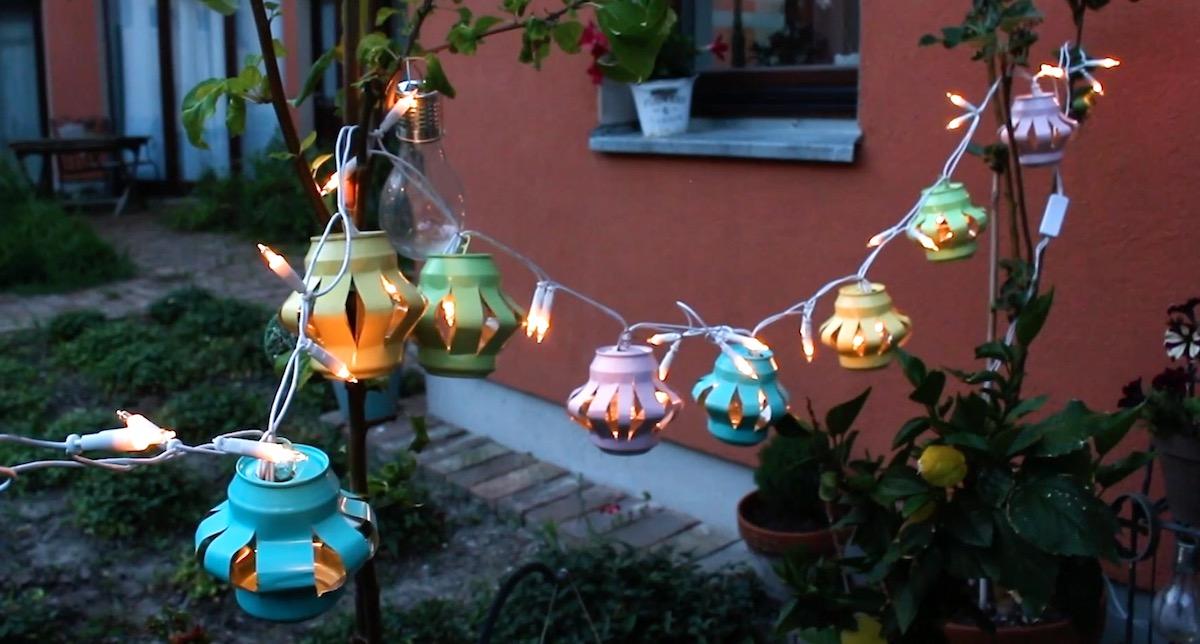 DIY Lighting For Your Home & Garden