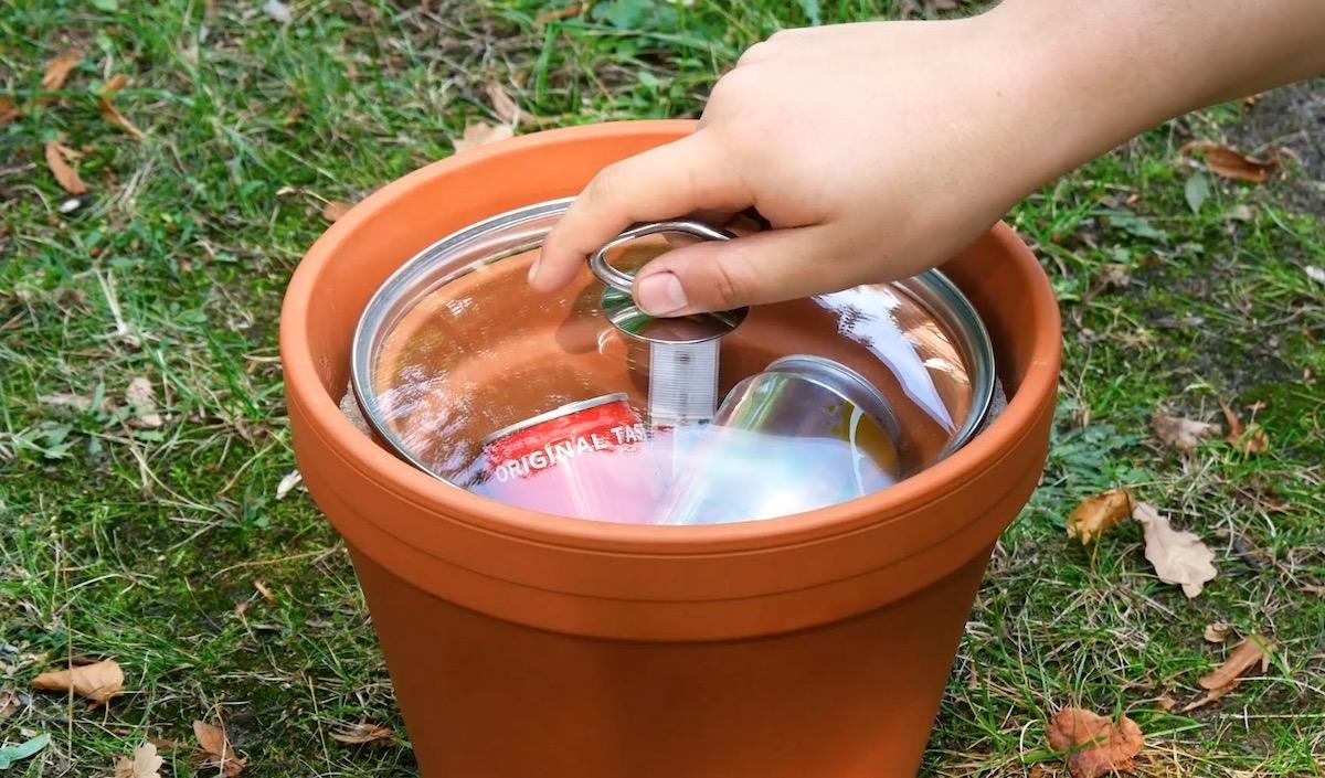 Flower Pot Cooler