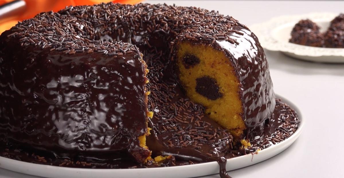 Brazilian Chocolate Carrot Cake