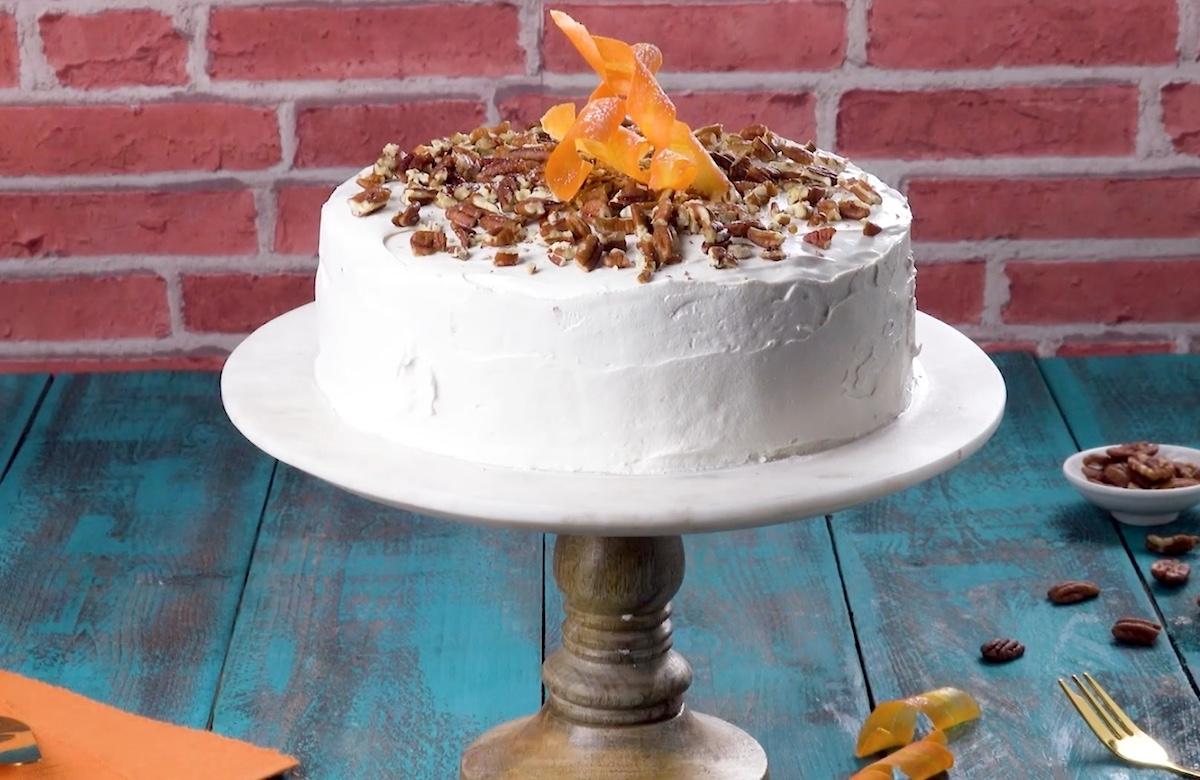 The Ultimate Apple, Pecan & Carrot Cake
